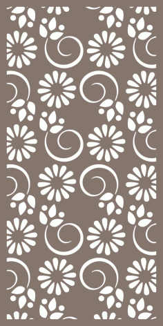 Privacy Screens and Panels Pattern Vector Free Vector