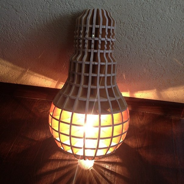 Lamp Made Of Plywood PDF File
