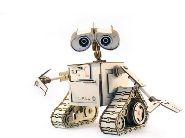 WALL-E Laser Cut Free Vector