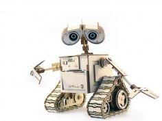 WALL-E Laser Cut Free Vector