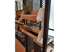 Laser Cut Vertical Garden DXF File