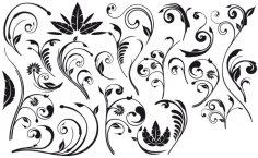 Flourish Design Free Vector