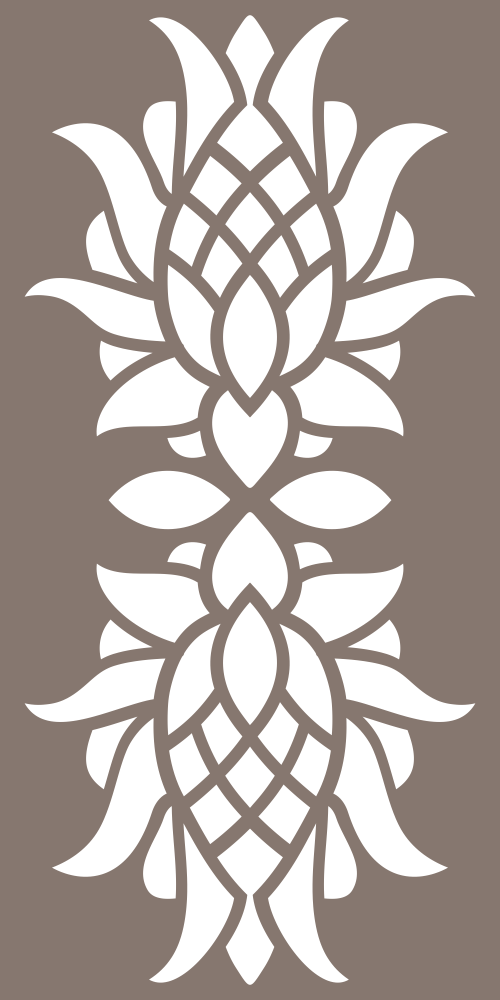 Floral Decor Pattern Vector Free Vector