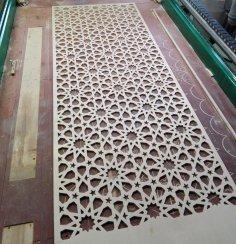 Laser Cut Decorative Screen Panels Pattern DXF File