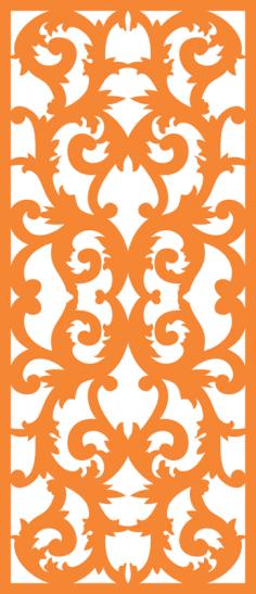 Laser cut design pattern Free Vector