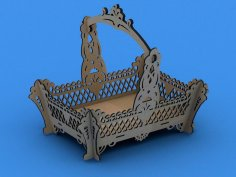 Fruit Basket Large Scroll Saw Plans PDF File