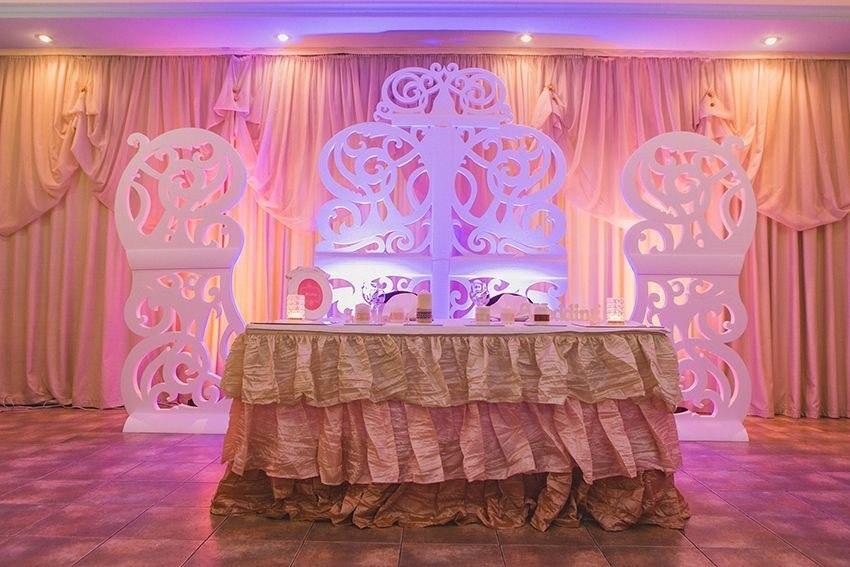 Laser Cut Wedding Screen Free Vector