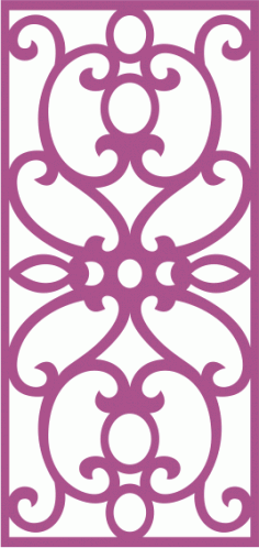 Laser Cut Vector Panel Seamless 216 Free Vector