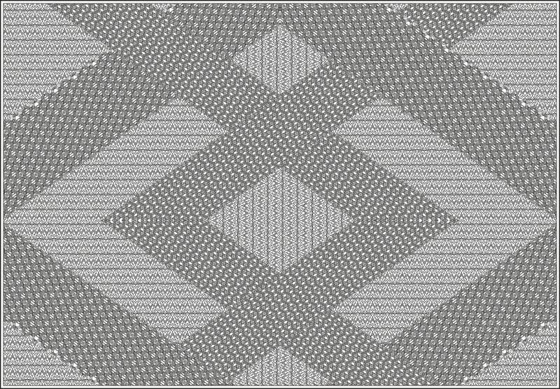 Vector Illustration Guilloche Pattern Free Vector