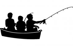 Fishing 6 dxf File
