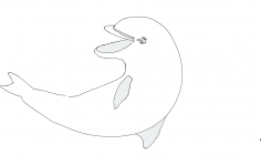 Dolphin 3 dxf File