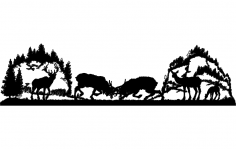 Elk Hills dxf File