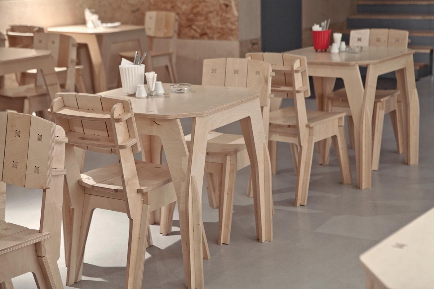 Digital Chair Design for Laser CNC DWG File