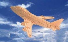 Boeing 3D Puzzle PDF File