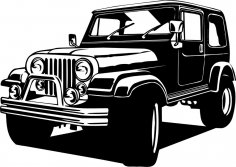 Jeep 4×4 CDR File