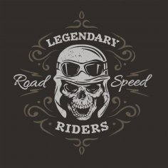 Legendary Riders Print CDR File