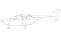 C337 – C337 – Skymaster – Profile dxf File