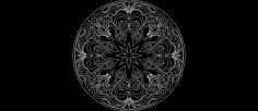 Round Design dxf File
