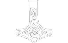 Mjolnir dxf File