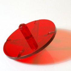 Mini Spining Top Lasercut 3D Puzzle