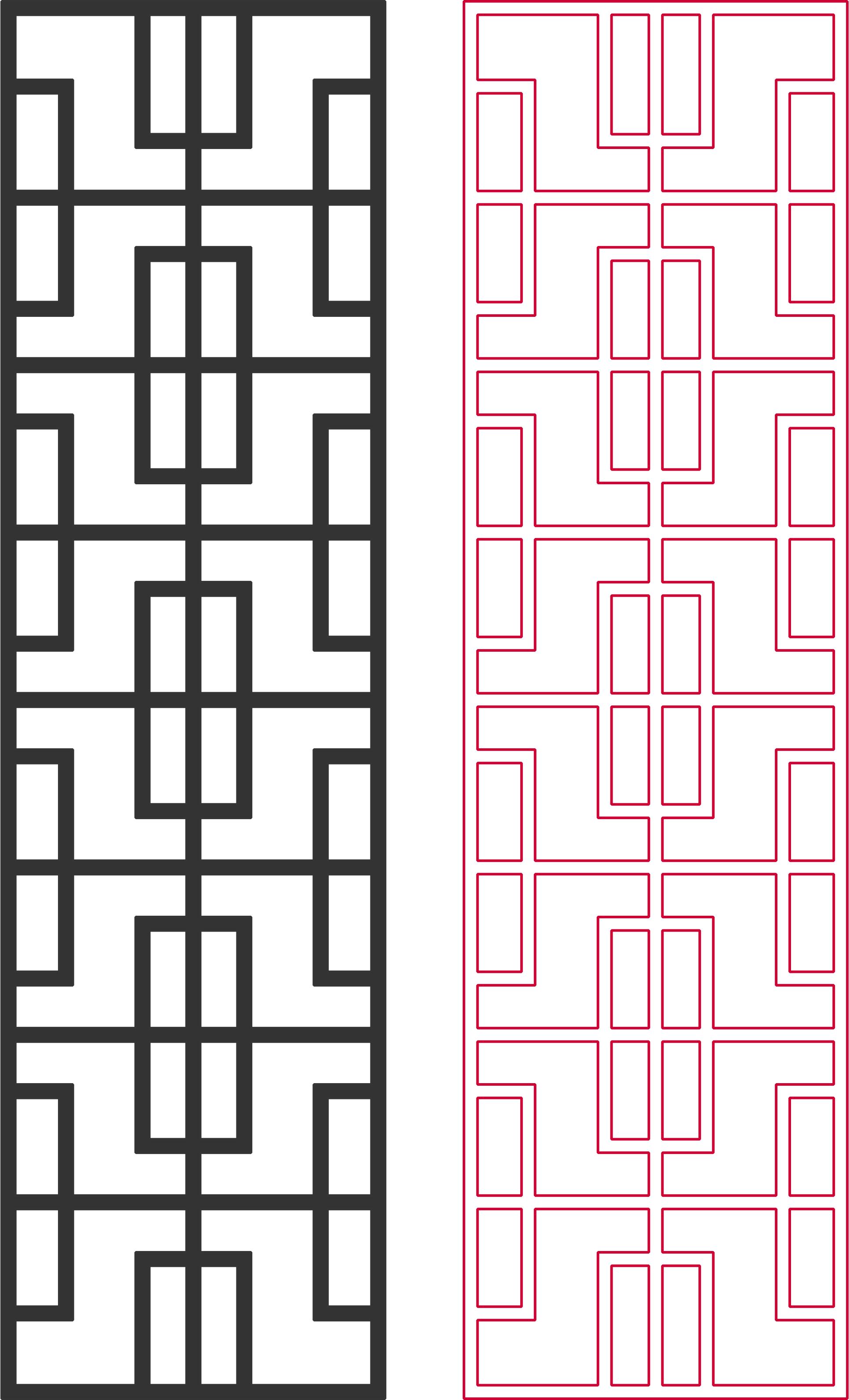 Geometric Dxf Pattern Designs 2d DXF File