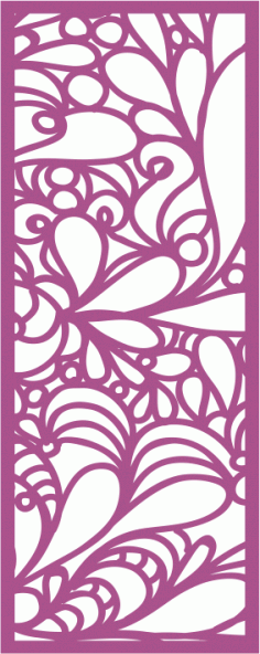 Decorative Screen Laser Cut Screen Panel