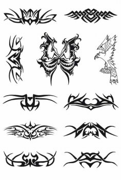 Tattoo Vectors Free Vector