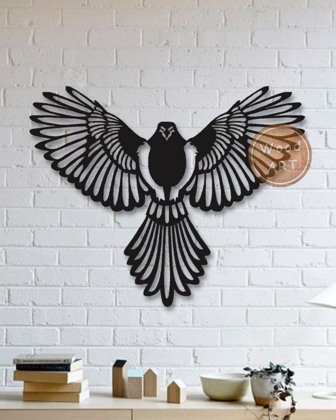 Wall Panel Bird DXF File