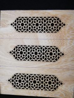 Laser Cut Motif Design DXF File