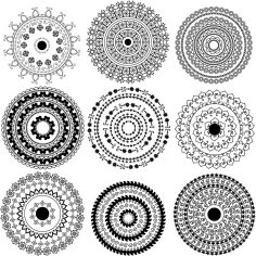 Classical Tradition Pattern Vector Free Vector