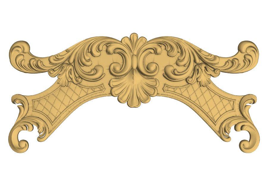 CNC Router Carving 3D Relief Design Stl File