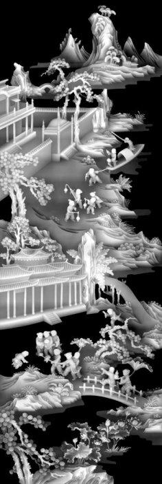 CNC 3D Relief Art BMP File
