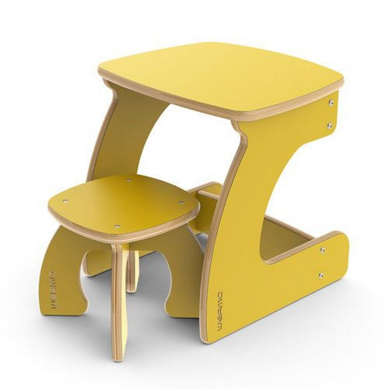 Kids Furniture Study Desk And Chair DXF File