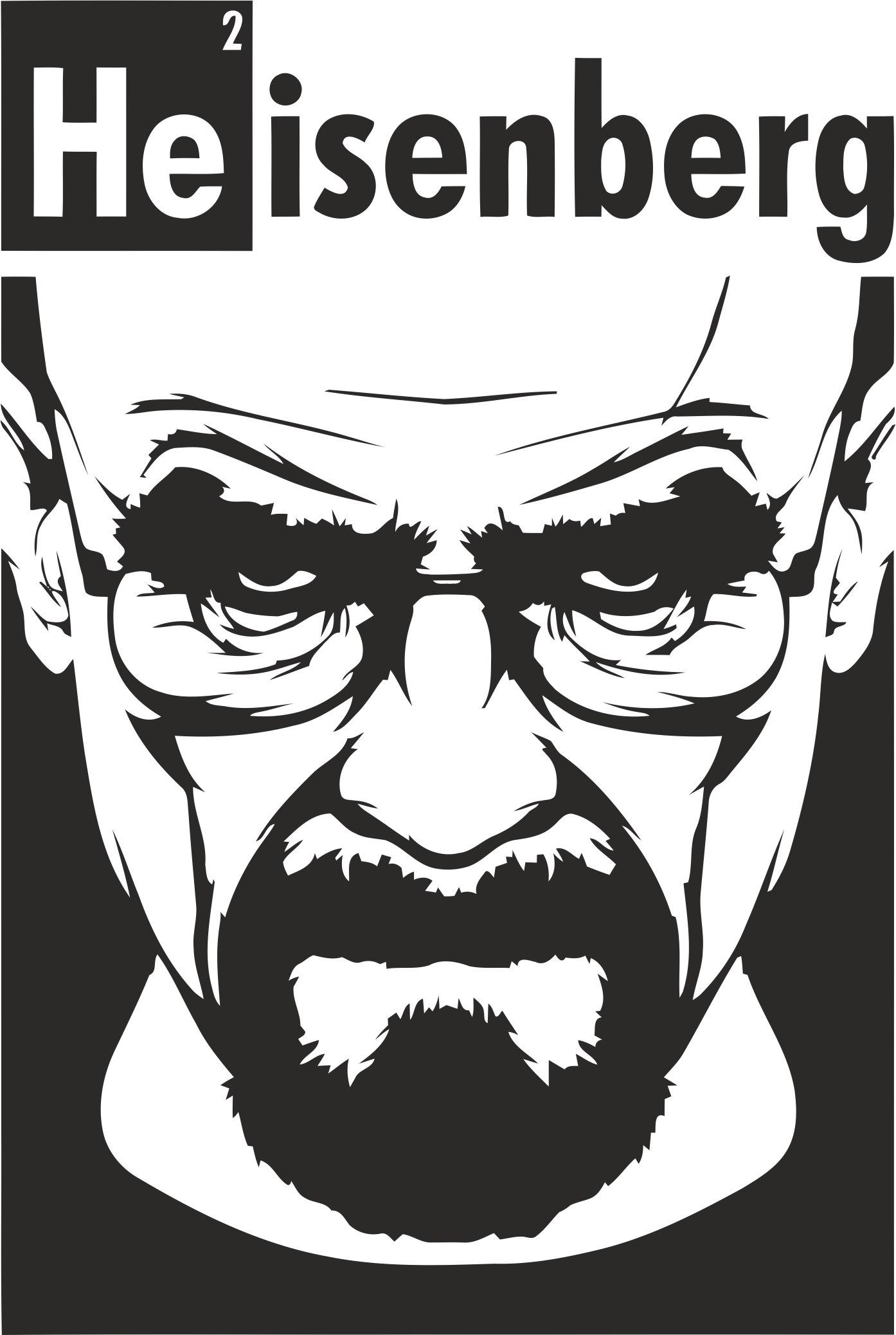 Heisenberg Print Vector