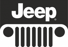 Jeep Logo Sticker Free Vector