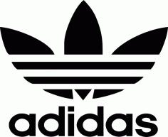 Adidas Logo cdr Free Vector