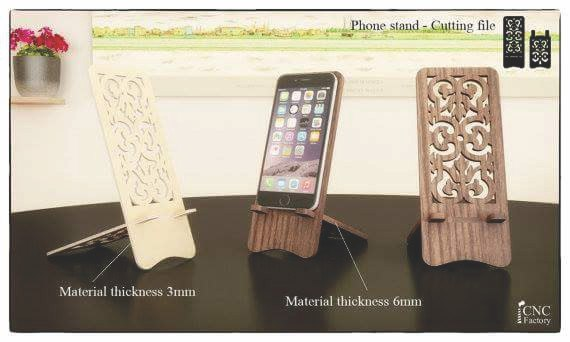 Phone Stand Cutting File