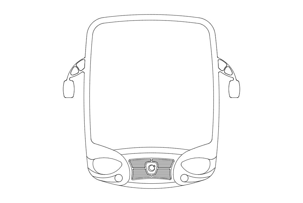 Otobus dxf File