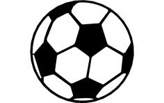 Soccer Ball dxf File