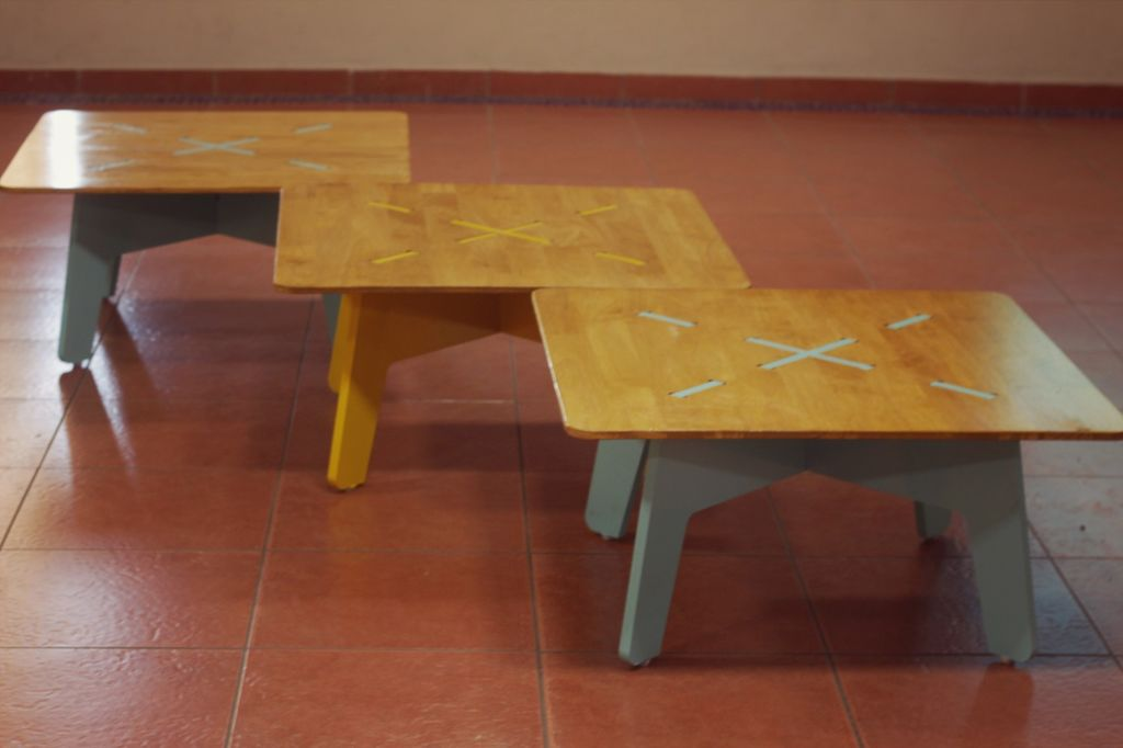 CNC Milled Low Table CDR File