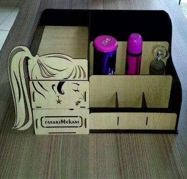 Makeup box DXF File