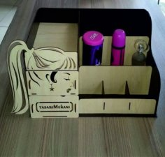 Makeup box DXF File