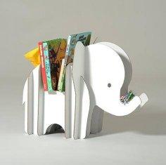 Elephant Storage 3D Puzzle Free Vector