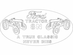Ford Tractor dxf File