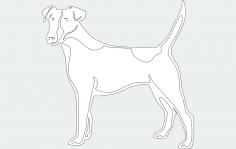 Dog 2 dxf File