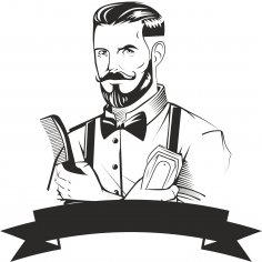 Barber Logo Design Free Vector