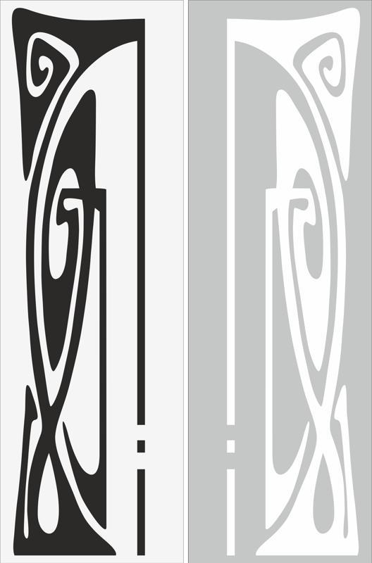 Abstract Decor Sandblast Pattern Free Vector