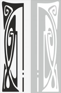 Abstract Decor Sandblast Pattern Free Vector