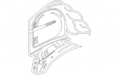 knight 1 dxf File
