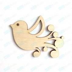 Bird Laser Cut PDF File